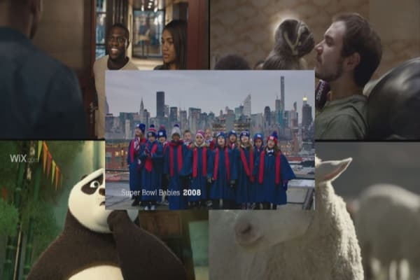 Most popular Super Bowl ads
