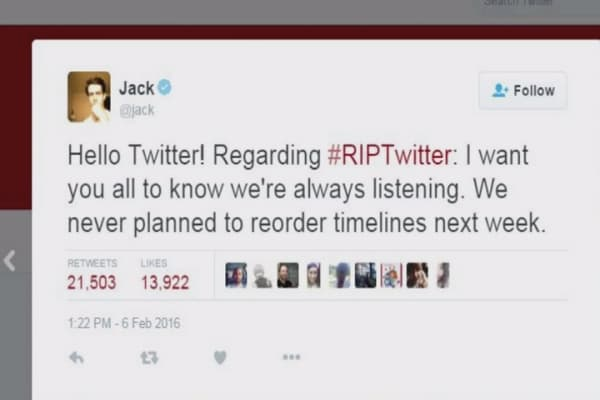 #RIPTwitter: User outrage over changes to tweets