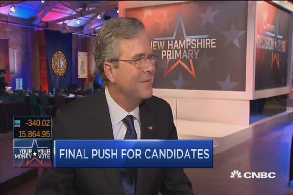 Jeb Bush: Rubio's a good guy; I'm a leader
