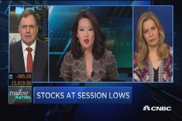 Trading Nation: Stocks slide