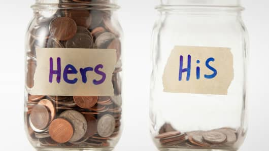 His and Hers retirement savings