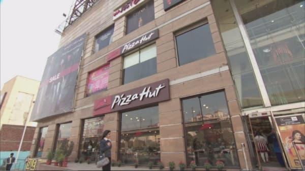 Pizza Hut's Super Bowl sales hit a record