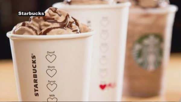 Starbucks reveals a Valentine's Day beverage