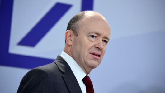 Equities drives declines at Deutsche Bank