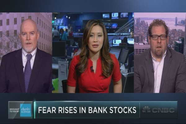 Investors get nervous about banks