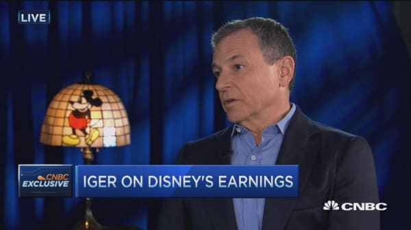 Disney's Iger: Star Wars drove our historic performance