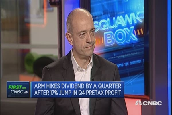 Our business is misunderstood: ARM CEO