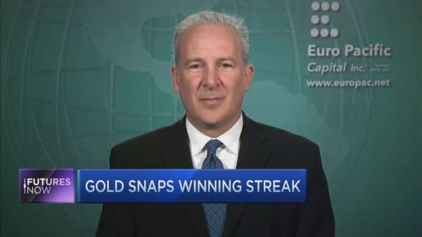 Peter Schiff on Gold