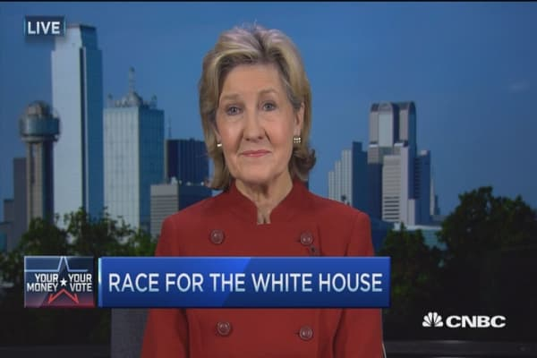 GOP vies for 'I am not Donald Trump' vote: Bailey Hutchison