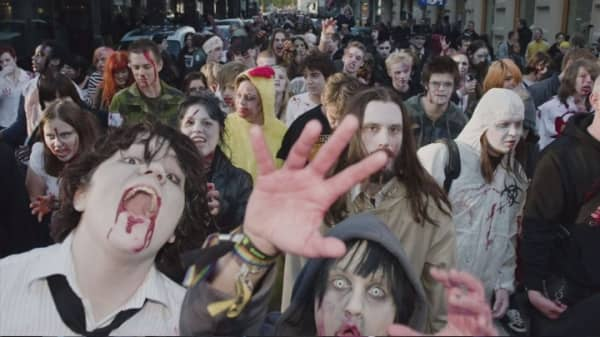 All bets are off in a zombie apocalypse