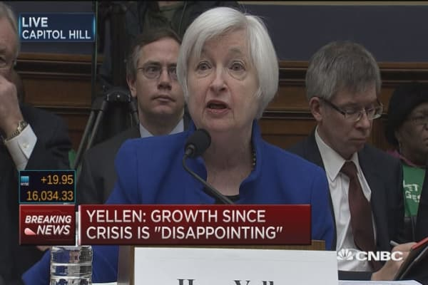 Negative rates possible in U.S.: Yellen