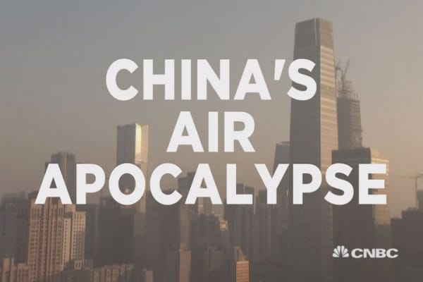China's pollution crisis at tipping point