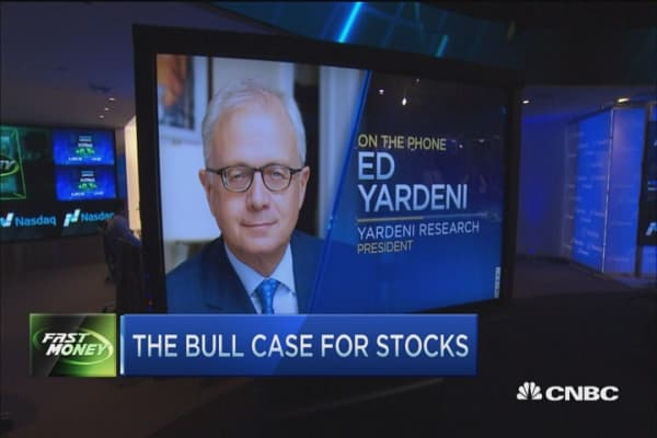 Stocks could rally another 10%: Yardeni Research
