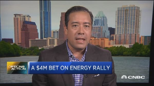 Options Action: $4M bet on energy rally