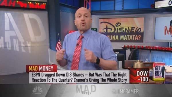 Cramer: Death to Mickey? How Disney went wrong