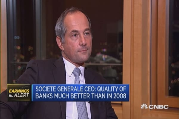 I'm positive for the euro zone in 2016: SocGen CEO