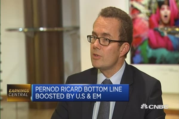 Profits at Pernod Ricard rise 9%