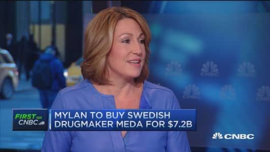Mylan CEO: Building for the long term