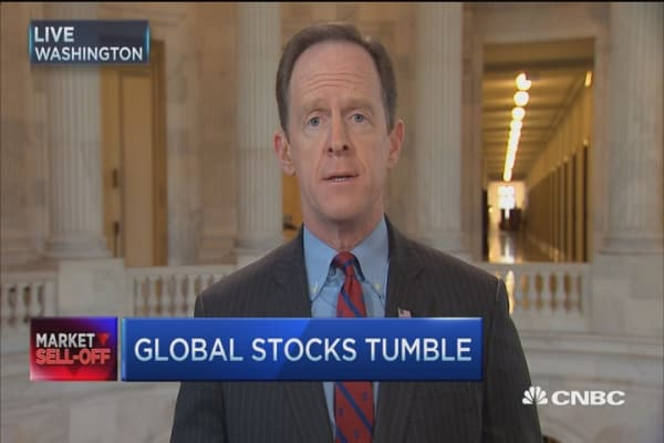 Time for Fed to 'return to normal': Sen. Toomey