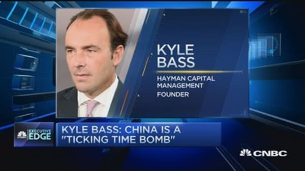 Kyle Bass sounds alarm on China