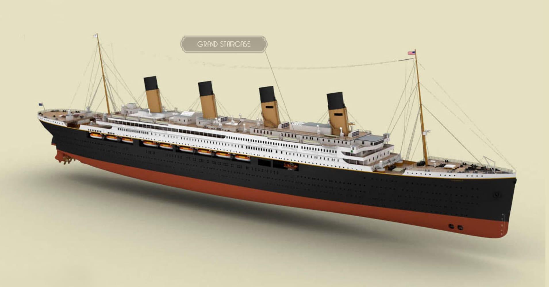 Titanic Ii Replica Of Doomed Ship To Set Sail In 2018