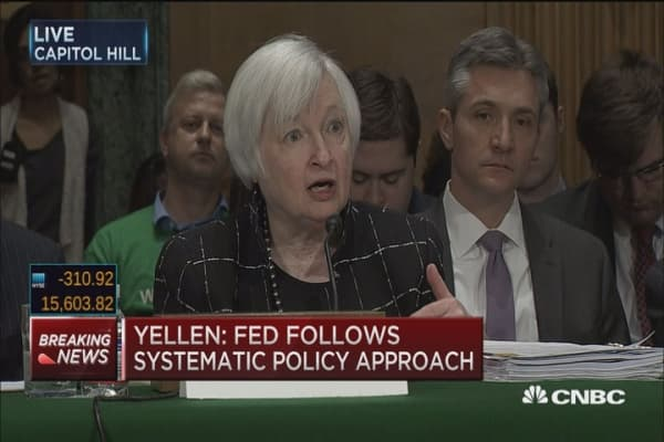 Fed is evaluating impact of negative rates: Yellen