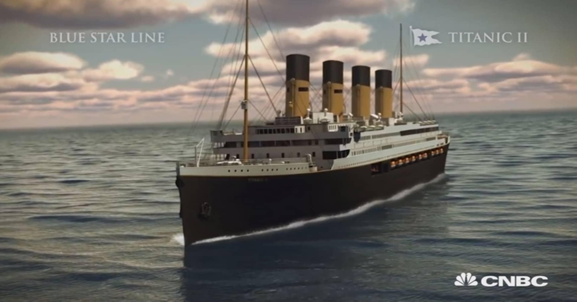 Titanic II  Replica to set sail in 2018 aa7c7ccd9