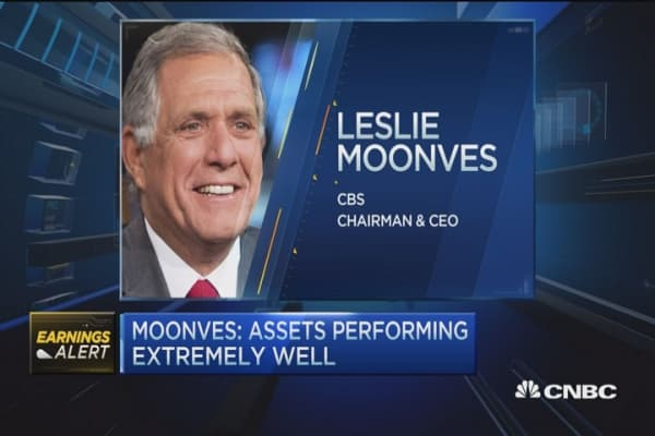Moonves: CBS cross-platform viewership up 6%