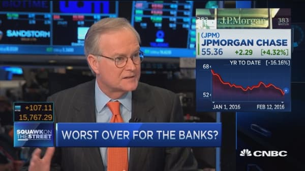 Large bank stocks are cheap: Analyst