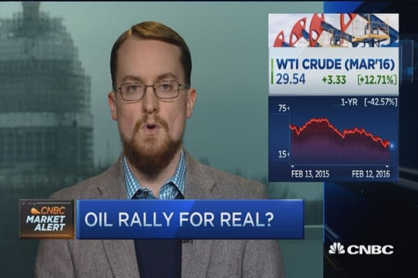 An oil swing this big has to swing back: Pro
