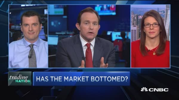 Trading Nation: One day in the market doesn't make or break it