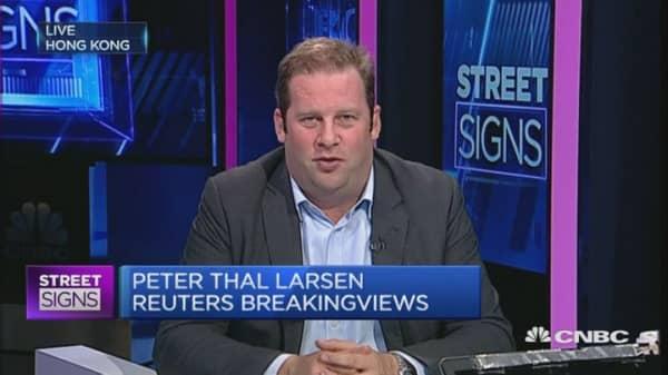 HSBC's choice risks pleasing nobody: Larsen