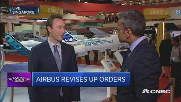 Is the slowdown affecting Airbus?