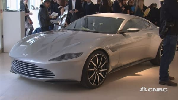 Want to buy James Bond's Aston Martin?