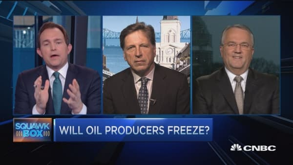 Does oil freeze matter?