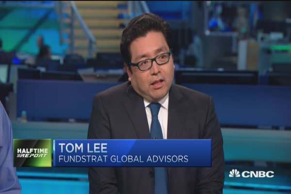 Tom Lee: Bullish case put to the test right now
