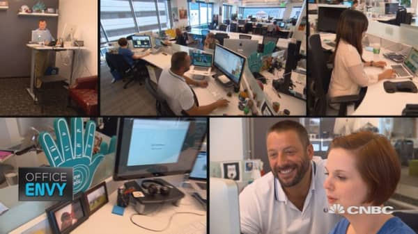 Get inside New Relic's San Francisco headquarters