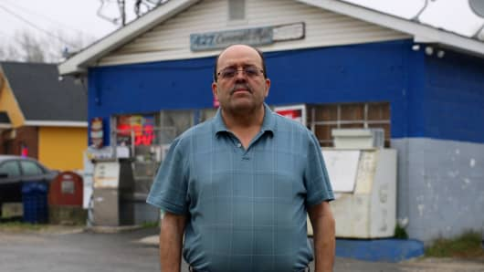 Ken Quran, a convenience store owner in North Carolina, has had more than $100,000 seized by the IRS.
