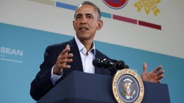 Pres. Obama: Trump can't win election