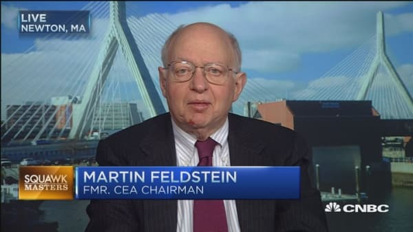 Risk of continue market corrections: Martin Feldstein