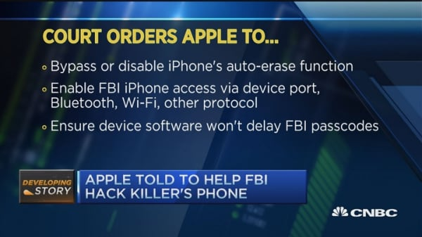 Apple and FBI stand-off