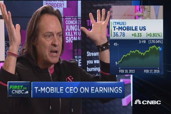 John Legere: All content going to Internet, all Internet going mobile