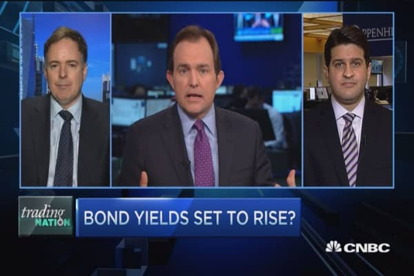 Trading Nation: Bond yields set to rise?
