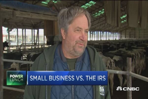 Small businesses vs. the IRS