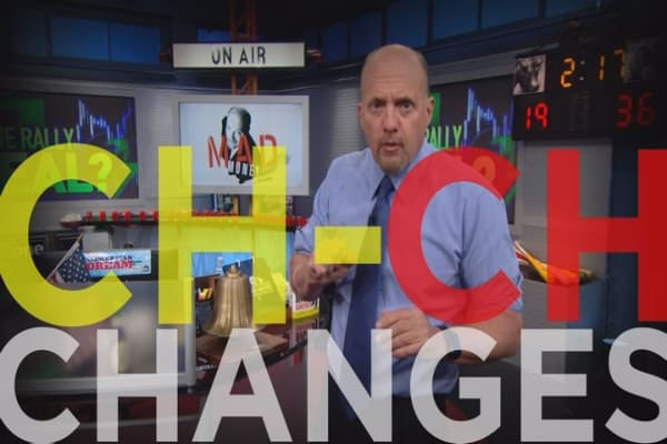 Cramer Remix: A Real Change From Pain In 2016