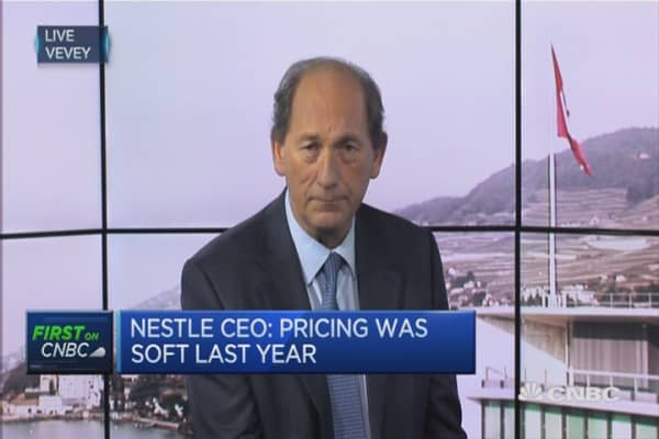 Chinese growth is slowing: Nestle CEO