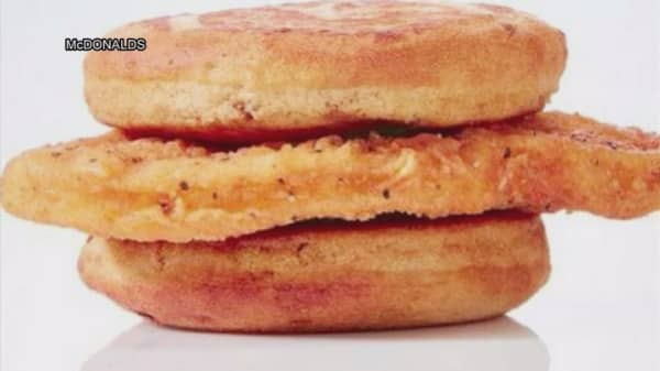 McDonald's now selling Chicken McGriddle at two price points