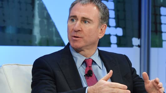Founder and CEO of Citadel, Kenneth C. Griffin