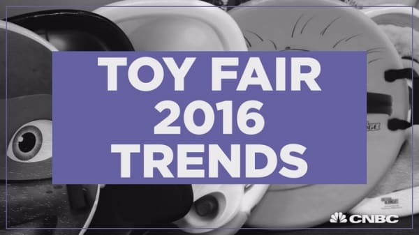 Tech toys and Star Wars dominate Toy Fair 2016