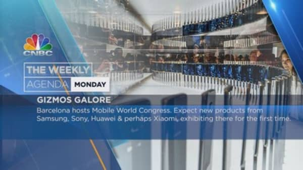Weekly agenda: Mobile World Congress, Brits, G20